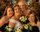 Essex Wedding makeup for Bride and Bridesmaids captured by Essex Wedding Photographer