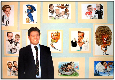 Caricatures by Caricaturist for your wedding in Essex