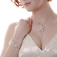 Wedding Accessories, Bridal Necklace and bracelet, created by Essex Wedding Accessories Company