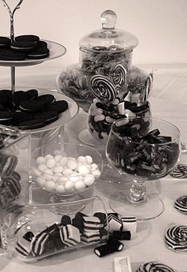 Candy Shop for Essex Wedding
