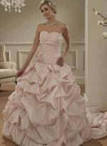 Pink Wedding Dress available at Bridal Wear Supplier in Essex