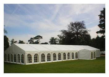 Marquee wedding venue Essex at the Crouch Valley Showground