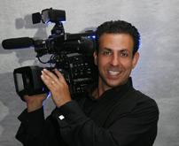 Essex Wedding Videographer with professional video equipment