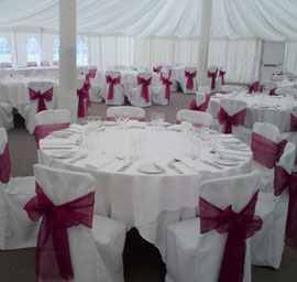 Chair covers for your Essex Wedding