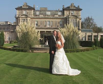 Bride and Groom at Essex Wedding Venue, image captured by Professional Essex Wedding Videographer