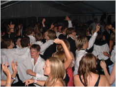 Dancing to a Wedding Band at an Essex Evening Party