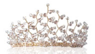 Wedding Accessories Tiara for Bride created by Essex wedding accessories company