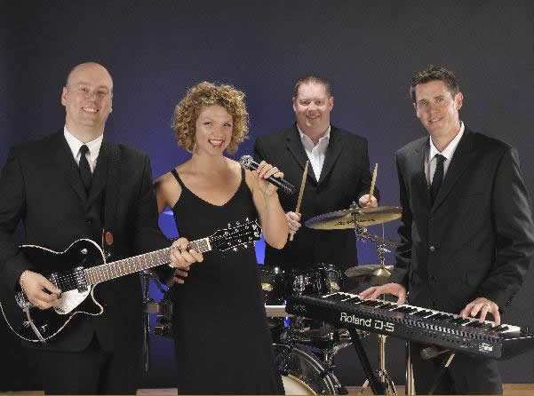 Essex Wedding Musicians in a Band providing professional music and singer for Weddings in Essex