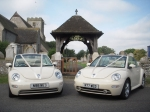 Wedding Car Hire Essex.  Wedding Car Rental of  VW beetle