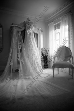 Wedding Dress photographed by Essex Wedding Photographer